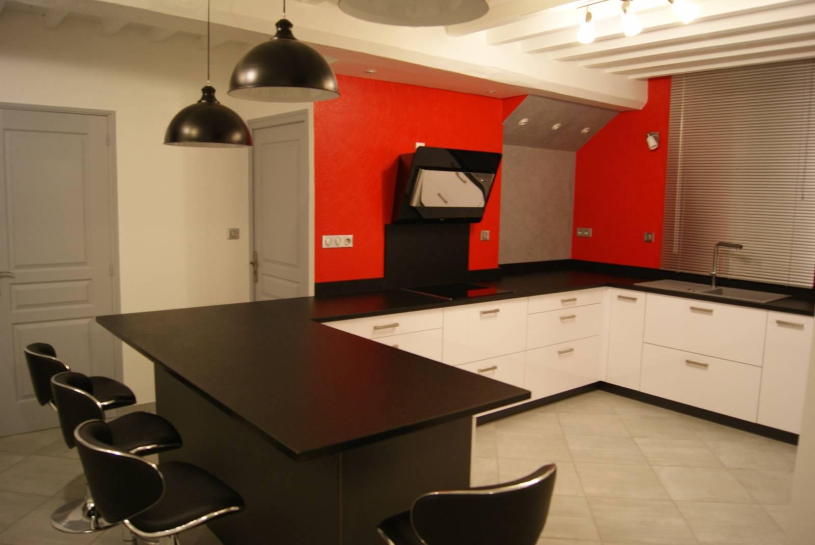 am nagement d 39 une cuisine meyzieu cuisiniste haut de gamme lyon am nagement cuisine. Black Bedroom Furniture Sets. Home Design Ideas