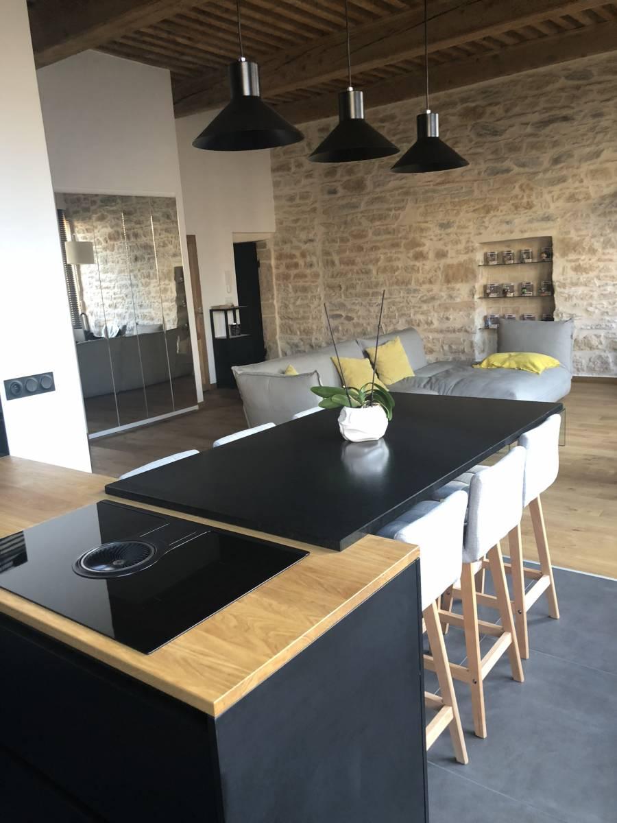 Pose de cuisine quip e lyon cuisiniste haut de gamme lyon am nagement cuisine - Schott cuisine ...