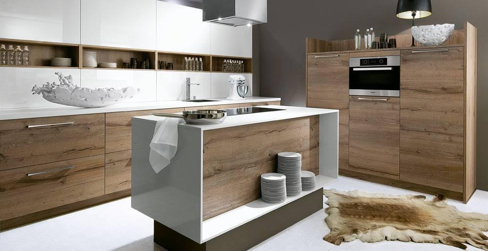 cuisine aspect bois avec poign es cuisiniste haut de gamme lyon am nagement cuisine. Black Bedroom Furniture Sets. Home Design Ideas