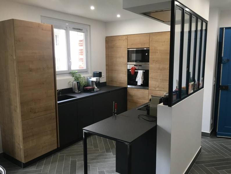 nos prestations cuisiniste haut de gamme lyon am nagement cuisine contemporaine schott. Black Bedroom Furniture Sets. Home Design Ideas
