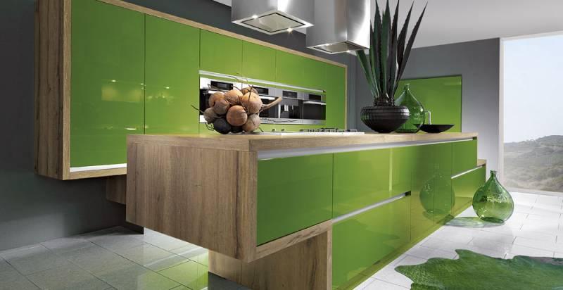 Cuisine brillante sans poign es cuisiniste haut de gamme lyon am nagement cuisine - Schott cuisine ...